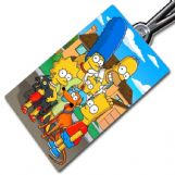 The Simpsons Bag Tag